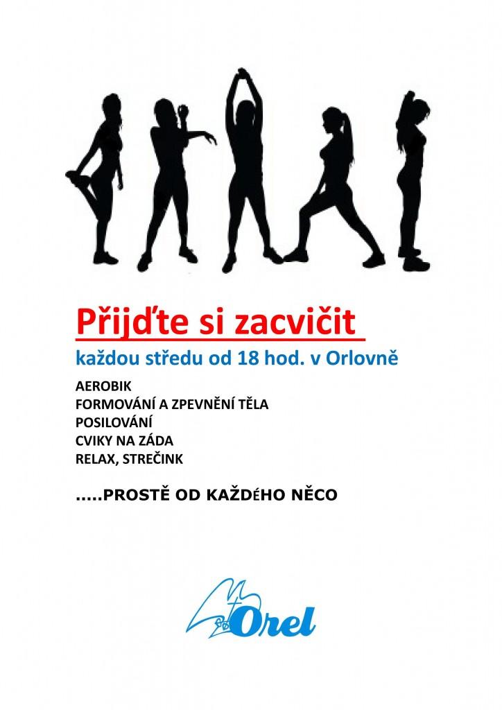Přijďte si zacvičit - pro ženy